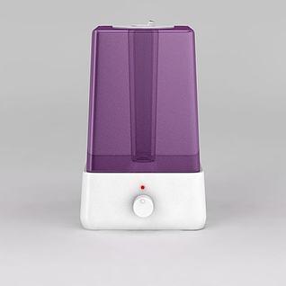 紫色加湿器3d模型