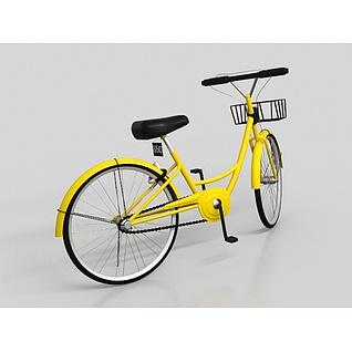 ofo共享单车3d模型
