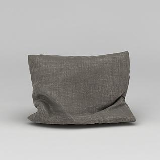 沙发抱枕3d模型