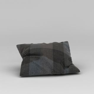 布艺抱枕3d模型