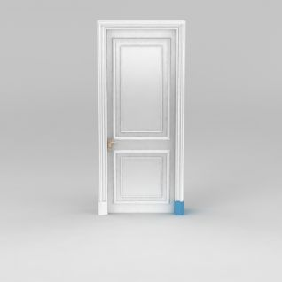 地中海室内门3d模型