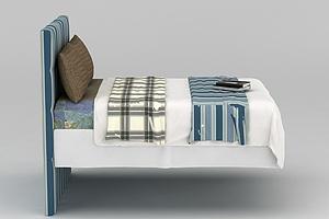 地中海卧室大床