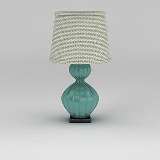地中海风格台灯3d模型