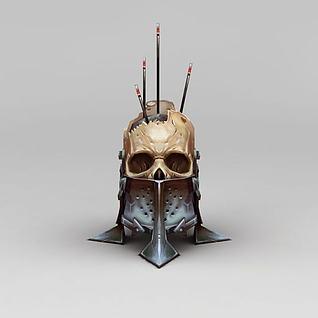 骷髅头3d模型