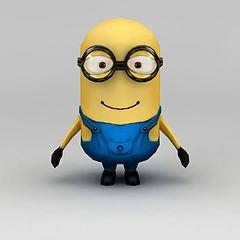 小黄人模型3d模型