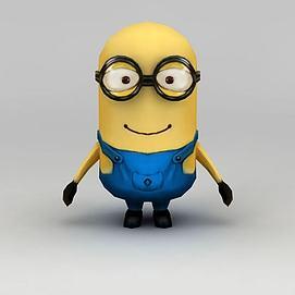小黄人模型