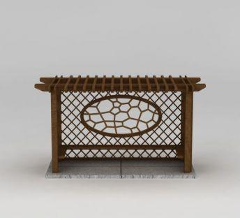 室外花架座椅