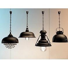 美式复古工业吊灯3D模型3d模型