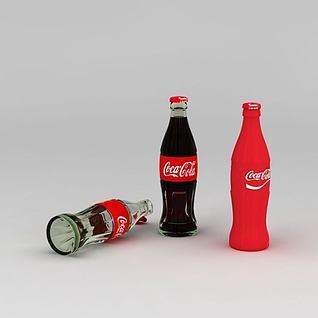 可口可乐3d模型