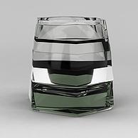 现代玻璃杯3D模型3d模型