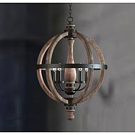 古典木艺吊灯3D模型3d模型
