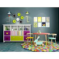儿童房柜子桌椅组合3D模型3d模型
