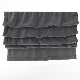 日式灰色卷帘模型