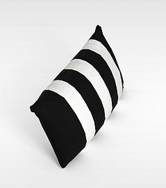黑白条纹<font class='myIsRed'>枕头</font>3d模型