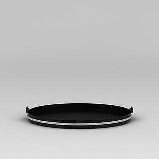 圆形托盘3d模型
