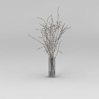 花瓶装饰摆件3d模型