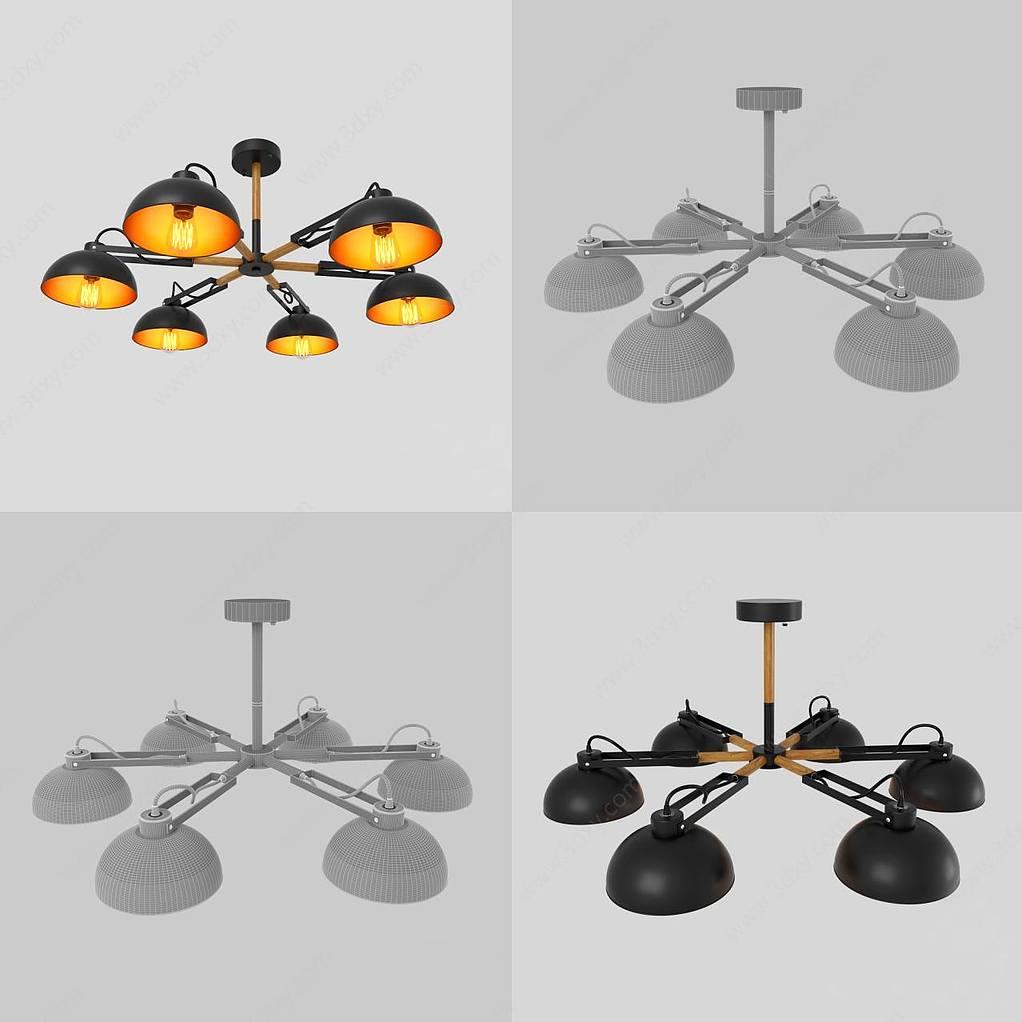 吊灯模型下载_工业风吊灯模型,工业风吊灯模型下载