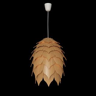 创意艺术吊灯3d模型