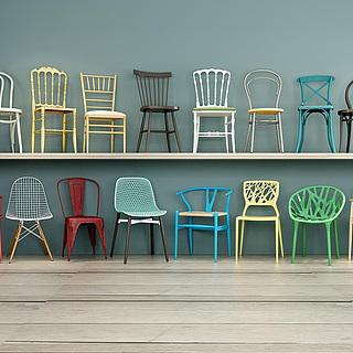 现代家用<font class='myIsRed'>餐椅</font>3d模型