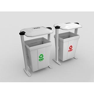 室外垃圾箱3d模型3d模型