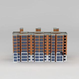 洋房3d模型