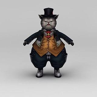 猫<font class='myIsRed'>人</font>3d模型