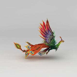 凤凰3d模型