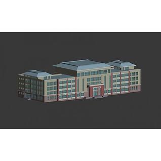 公建楼3d模型3d模型