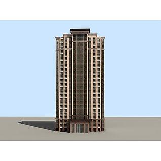 商务写字楼3d模型