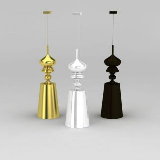 现代时尚吊灯3d模型