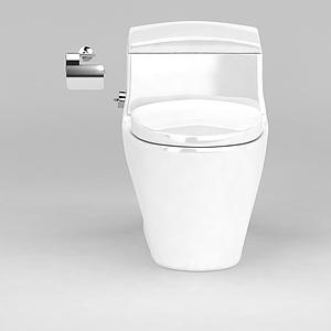 家用马桶模型