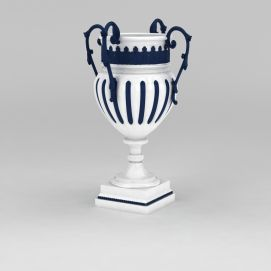 陶瓷装饰花瓶3d模型