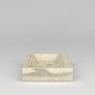 浴室大理石台盆3d模型