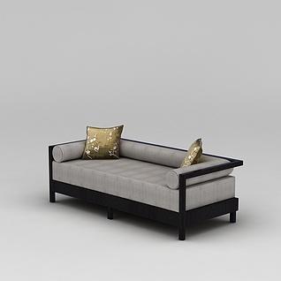 中式仿古沙发3d模型3d模型