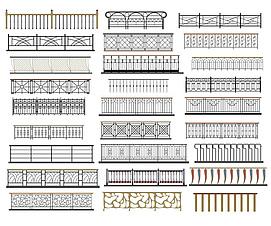3d楼梯扶手模型