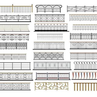 <font class='myIsRed'>楼梯</font>扶手3d模型
