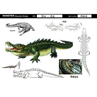 鳄鱼3d模型3d模型