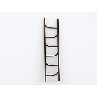 个性梯子3d模型