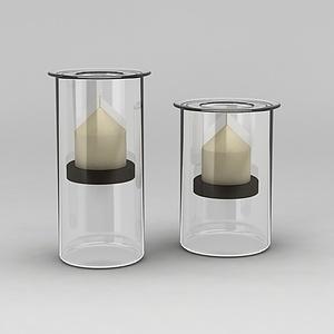 灯饰灯筒模型