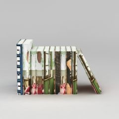 书籍读物模型3d模型