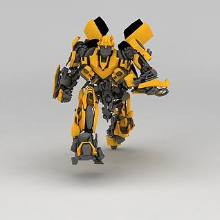 变形金刚玩具3d模型