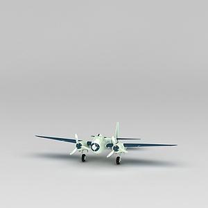 轰炸机模型