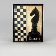 国际象棋挂画3D模型3d模型