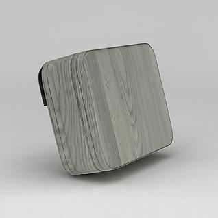 方形包包3d模型3d模型