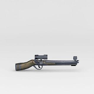 复古枪3d模型3d模型
