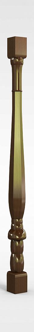 烤漆楼梯柱模型
