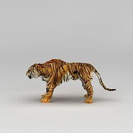 动物园老虎模型