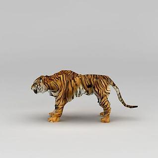 动物园老虎3d模型
