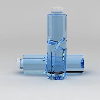 百岁山矿泉水3d模型