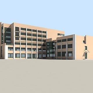 公共建筑3d模型
